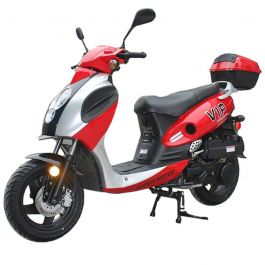 "Pro TT PowerMax 150cc Scooter with BIG 12"" Aluminum Rims, Low Profile 50cc Scooter Body Frame"