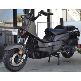 ZNEN Rover 150 Scooter Matte Black