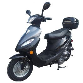 PRO Z6 4 Stroke 50cc Gas Scooter with Disc Brake (FREE Rear Cargo Trunk)