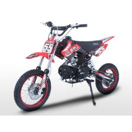BMS PRO125 125cc Racing Dirt Bike Red