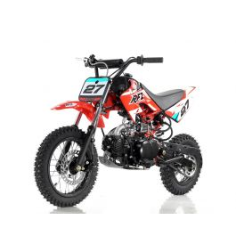 Apollo DB27 110cc Dirt Bike/Pit Bike with 4 Speed Semi Automatic Transmission
