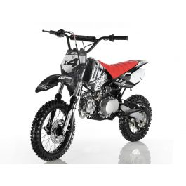 Apollo X-4 110cc Mini Dirt Bike/ Pit Bike with Semi Automatic Transmission, Big Wheel Upgraded