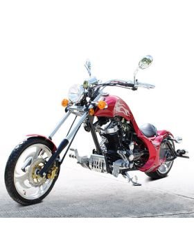 PRO DF250 250cc Chopper Motorcycle, Honda Rebel Style, High power 250cc V-engine