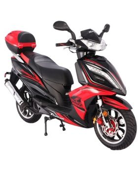 PRO Quantum (Titan150) 150cc 4 Stroke 150cc Large body Gas Scooter (LED Front lights, performance muffler, 13inch aluminum wheel, Dual rear shock)