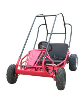 PRO Trail Master Mid Size XRS Go Kart ( Fully Automatic, 168F 6.5 HP General Purpose Engine, Speed Limiter, Mostly Assembled)