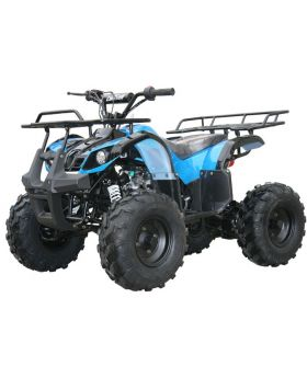"PRO Coolster Spec-XRS Yamaha Grizzly Clone 125cc ATV (Semi-Automatic 3 Spd with Reverse, Big 19"" Tires with 8"" Wheels, Hi-Power 125cc Clone Honda CG Series engine, Big Size Body Frame for Kids,High Quality, Remote Control Safety Features)"