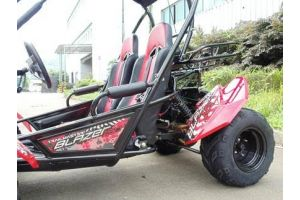 PRO Trail Master 150cc Large Size (Fits Adult and Big Youth) Blazer Go Kart  ( Fully Automatic, Hi-Power 4-Stroke GY6 150cc Engine, Electric Start,