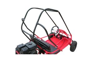 PRO Trail Master Mid Size XRS Go Kart ( Fully Automatic, 168F 6 5 HP  General Purpose Engine, Speed Limiter, Mostly Assembled)